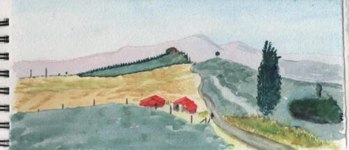 Pienza Road
