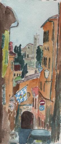 Sienna Watercolour