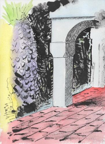 Palm and Pillar at La Finca Paradiso.